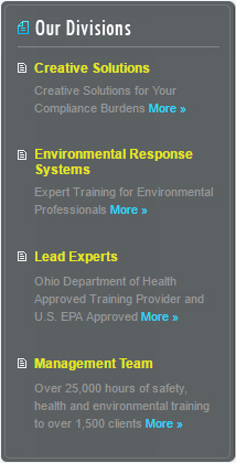 Dell Group - Environmental Response, Lead Hazard Training